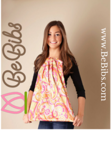 BeBibs Fashion Bib Side Logo